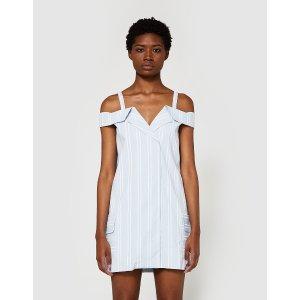 Farrow Folded Collar Dress