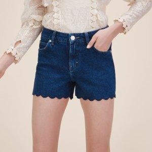 SHAFT Denim shorts - Skirts & Shorts - Maje.com