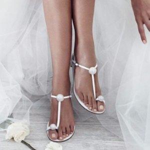 低至6折 收一字带凉鞋、乐福鞋Stuart Weitzman女款 春季单鞋,夏季凉鞋,秋冬过膝靴