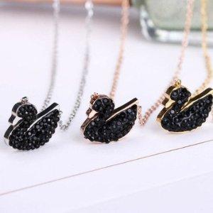 7.5折Swarovski官网水晶饰品享优惠 收跳动的心,黑天鹅,恶魔之眼
