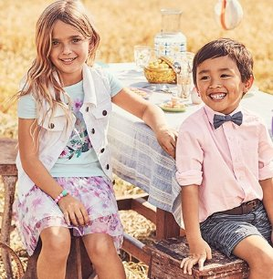 50% Off + Extra 25% Off $40Kids Apparel Sale @ OshKosh BGosh