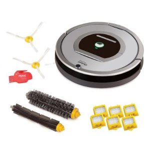 iRobot Roomba 761 Robotic Vacuum with Replenishment Kit