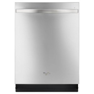 Whirlpool Top Control Dishwasher in Monochromatic Stainless Steel with Stainless Steel Tub, Sensor Cycle, 48 dBA-WDT780SAEM - The Home Depot