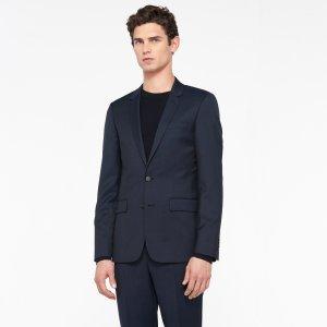 Slim fit jacket in pinstriped wool - Suits & Blazers - Sandro-paris.com