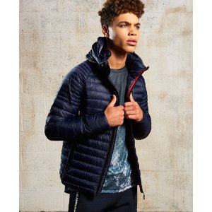 Sport Power Down Hooded jacket