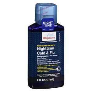 Walgreens Cold & Flu Maximum Strength Night | Walgreens