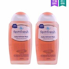 ¥89包邮包税最后一天:emfresh日常男性女性私处护理洗液250ml*2 孕期可用