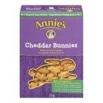 Annie's Homegrown 奶酪口味兔子形状饼干
