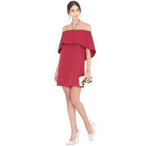 Alice + Olivia红色连衣裙