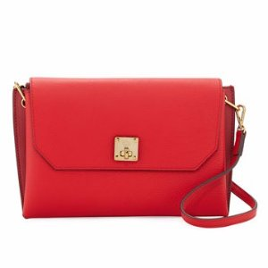 MCM Milla Small Leather Clutch Bag