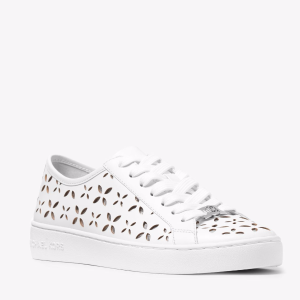 Keaton Perforated-Leather Sneaker