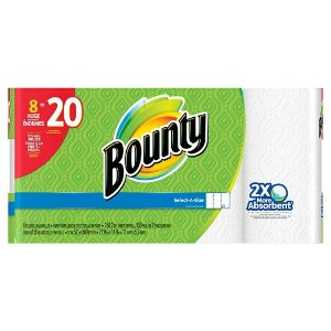Bounty Select-A-Size Paper Towels - White (8 Huge Rolls) : Target