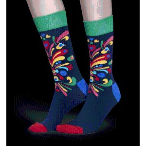 Swedishness: discover our blue Kurbits socks | Happy Socks