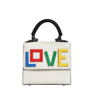 MICRO ALEX RAINBOW LOVE TOP HANDLE BAG