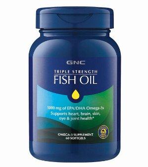 $8.49 史低价双12独家:GNC 三倍强效深海鱼油 60粒,提高免疫力首选