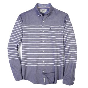 ENGINEERED STRIPE OXFORD SHIRT