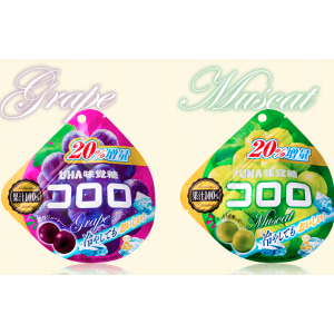 UHA Mikakuto Kororo Gummy 40g, multiple flavors