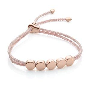 Linear Bead Friendship Bracelet | Monica Vinader