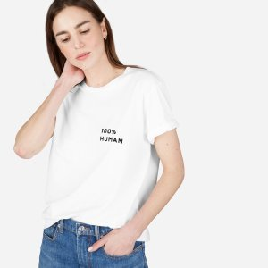 The Human Unisex Crew in Small Print | Everlane