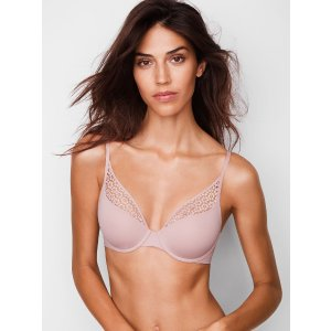 Lightly Lined Scoop Demi Bra - The T-Shirt - Victoria's Secret