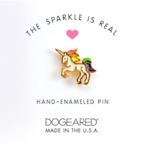 The Sparkle is Real, Unicorn Enamel Pin | Dogeared