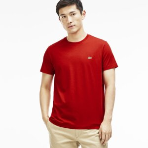 Men's Pima Cotton Crewneck T-Shirt | LACOSTE