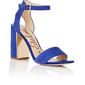 Sam Edelman Synthia Suede Ankle-Sandals | Barneys Warehouse