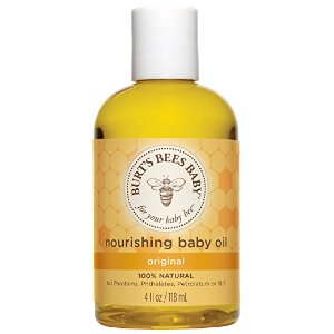 $5.33(原价$8.99)Burt's Bees 小蜜蜂100%纯天然婴儿按摩油 4oz