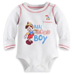 Pinocchio Disney Cuddly Bodysuit for Baby | Disney Store