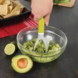Casabella 4 'n 1 Avocado Tool, Green/Grey