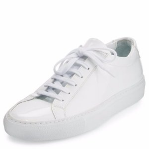 Common Projects Achilles Patent Leather Sneaker, White