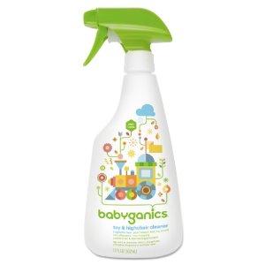 Babyganics Toy And Highchair Cleaner Spray, Fragrance-Free, 17 Oz | Jet.com