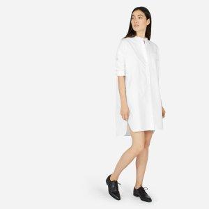 The Oversized Cotton Poplin Shirt Dress | Everlane