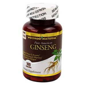 Pure American Ginseng Capsules, 500mg 100 Capsules by Washington