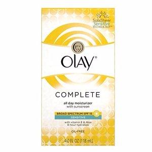 $5.98包邮Olay 敏感肌专用 日用滋潤乳液 SPF 15 4oz