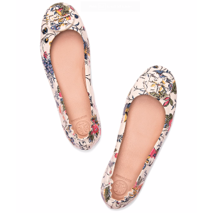 Tory Burch Minnie Ballet Flat, Printed Leather
