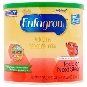 $36.99 + Free ShippingEnfagrow Toddler 1-3 Years Old Next Step Vanilla Flavor Milk Drink 24 oz - 4 Pack