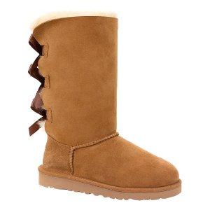 UGG® Chestnut Bailey Bow Tall Boot - Little Kids & Kids | zulily