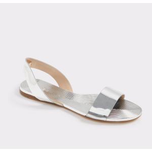 Yoana Silver Women's Flats | ALDO US