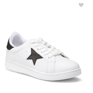 Lace Up Star Sneakers