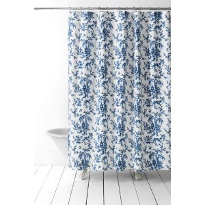 Printed Shower Curtain from Lands' End