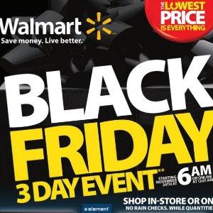 黑五3天特卖海报抢先看Walmart 加拿大官网 Apple 32GB 平板电脑立减$53 ;$49收Instant Pot 多功能压力锅