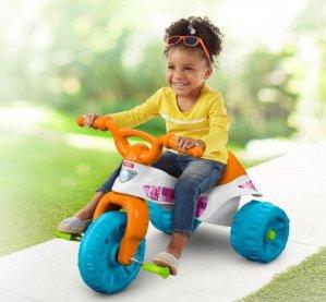 $15(原价$39.97)Fisher-Price费雪儿童玩具三轮车