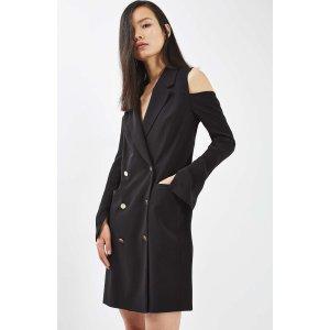 Topshop Cold Shoulder Blazer Dress | Nordstrom