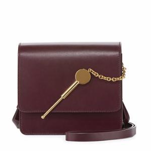 Cocktail Stirrer Small Leather Saddle Bag