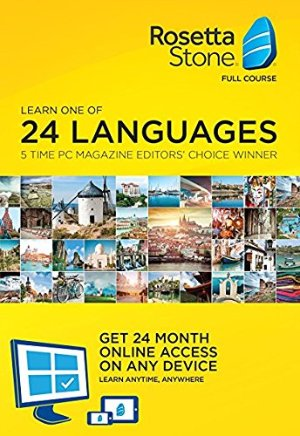 Today Only: $179Rosetta Stone Lifetime Download with 24 Month Online Access @ Amazon