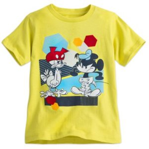 Mickey Mouse and Donald Duck Summer Fun Tee for Boys