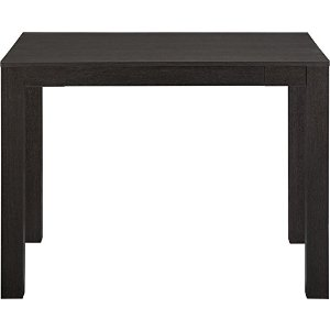 Altra Parsons Desk with Drawer, Black Oak