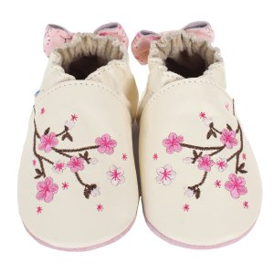 Cherry Blossoms Baby Shoes   Robeez