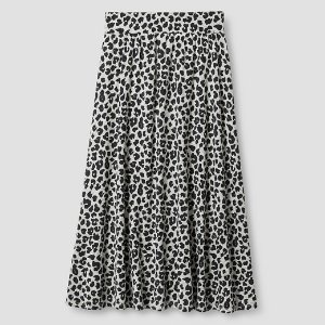 Girls' Animal Print Maxi Skirt Cat & Jack™ - Grey : Target